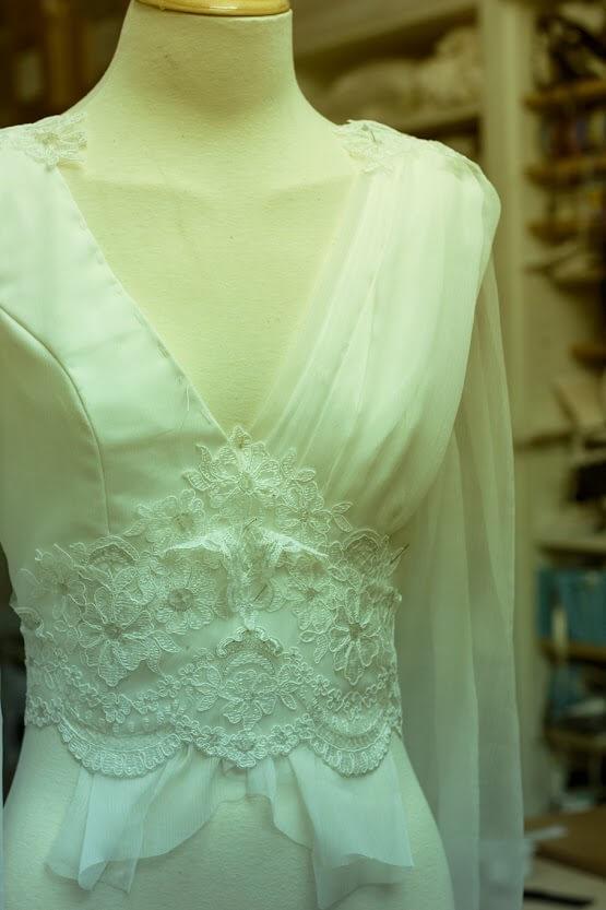 vestido en maniqui