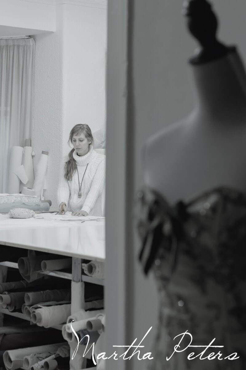 Martha en su atelier