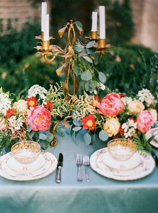 centros mesa bodas