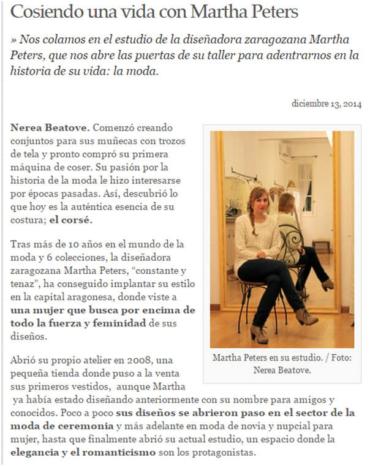 Entrevista en Zaragoza Buenas Noticias