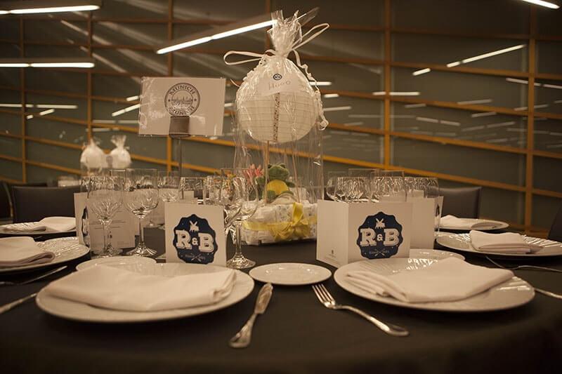 detalles mesa boda
