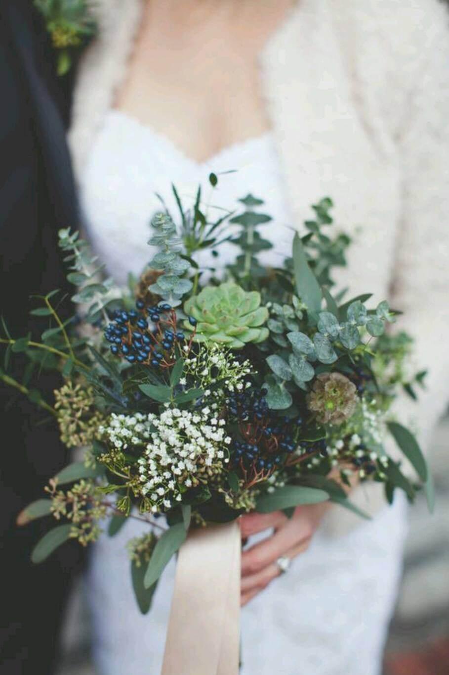 flores con cinta