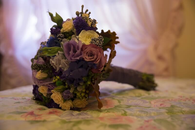 flores novia boda