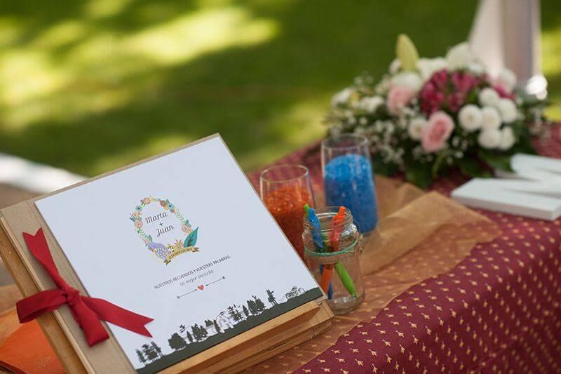 invitaciones diferentes para boda