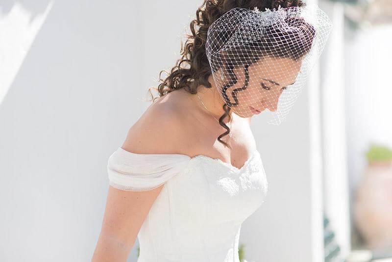 novia con corset