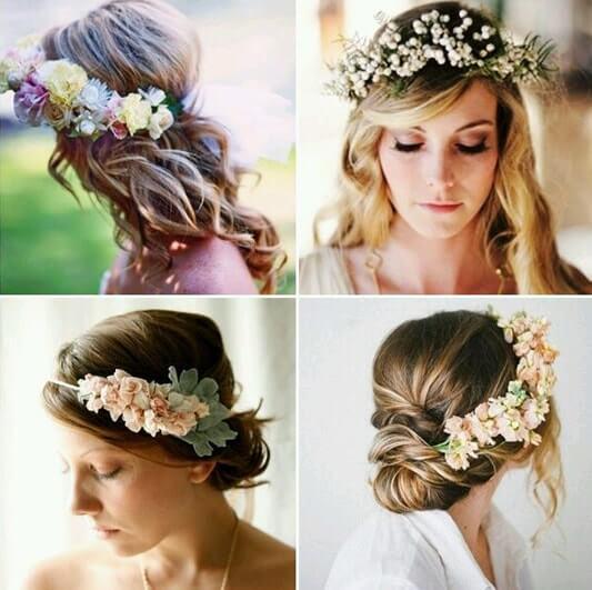 peinados primavera novias