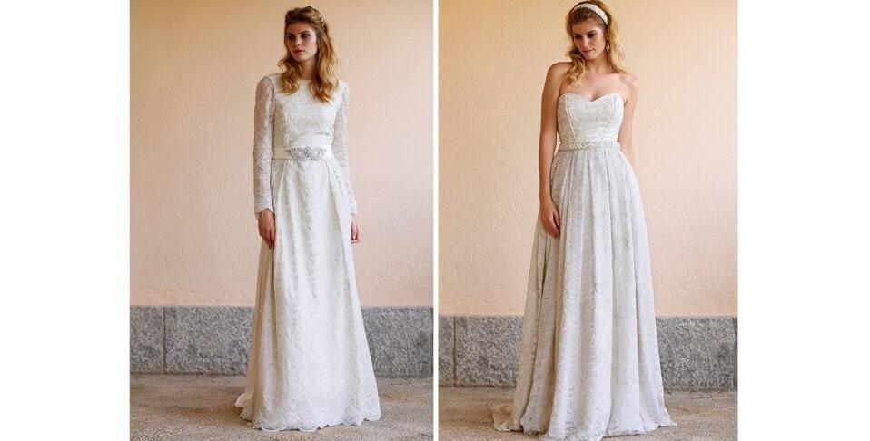 trajes de novia originales