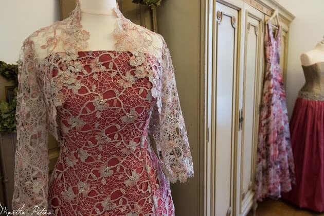 vestido corset-