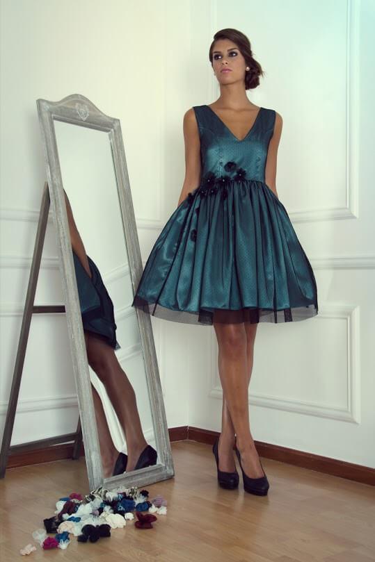 vestido de fiesta para una boda