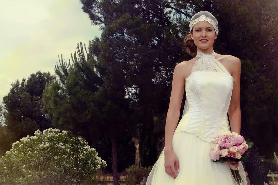 vestido de novia cinta