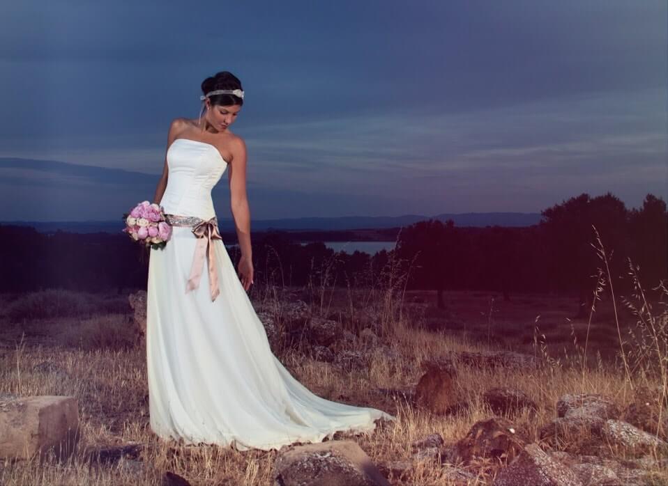 vestido de novia con fajin-min