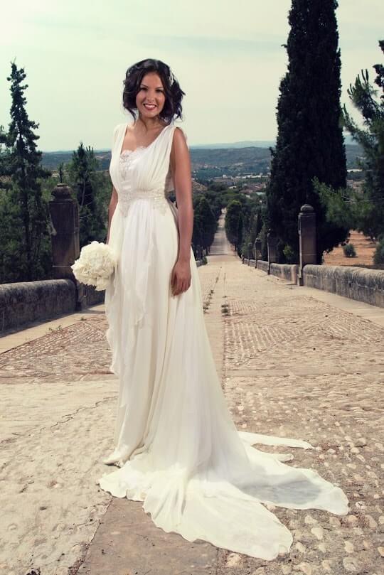 vestido de novia embarazada-min