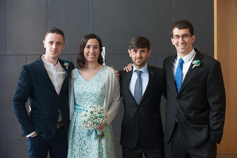vestido novia boda civil