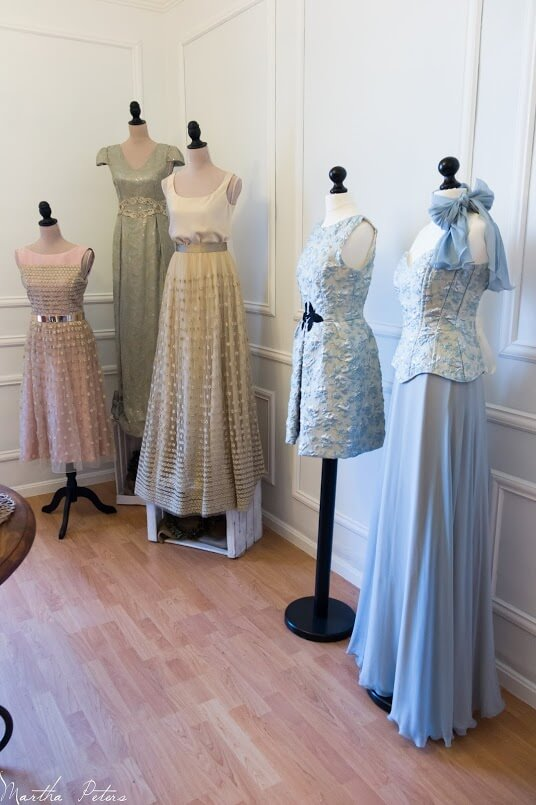 vestidos de fiesta con corset