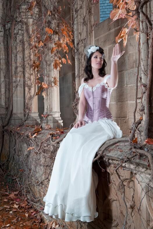 vestidos de novia con corset malva-min