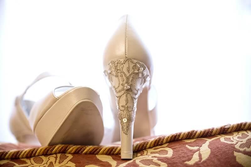 zapatos novia tejidos