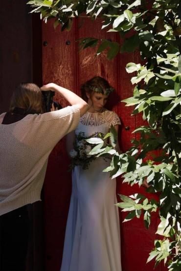 Making of Martha Peters Novia 2017