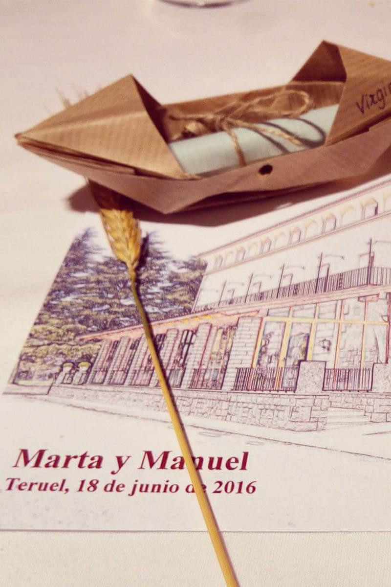 novias reales Martha Peters