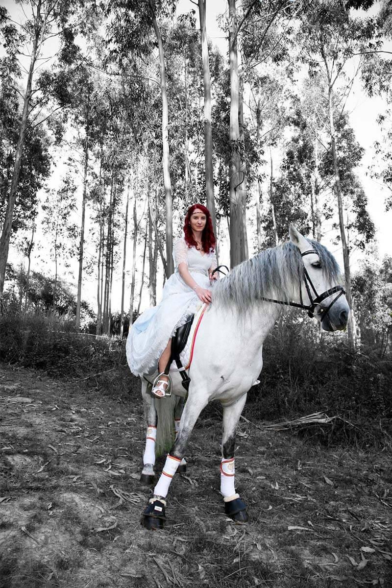 Martha Peters vestido de novia real