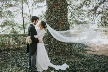 Una romántica boda en Teruel