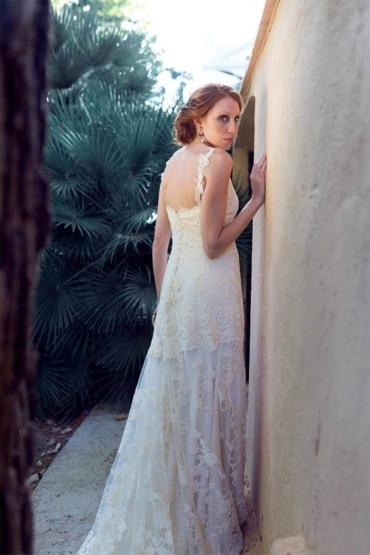 Claire, un vestido romántico y diferente