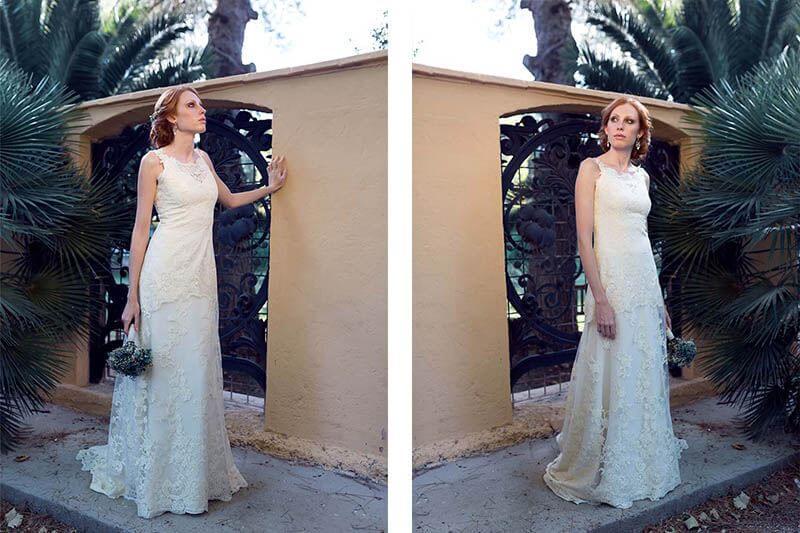 vestido de novia Martha Peters