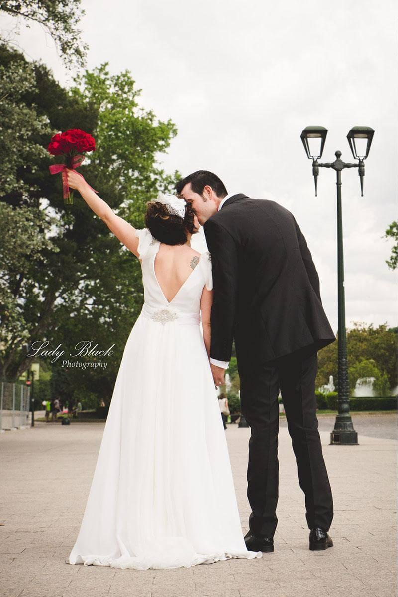 trajes para novia