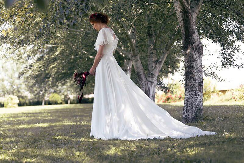 vestidos largos para boda