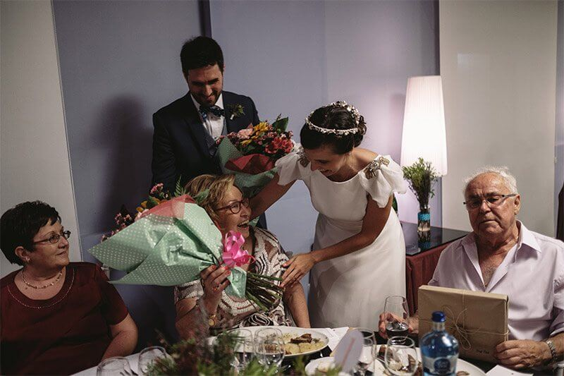 trajes de madrina de boda rosa clara