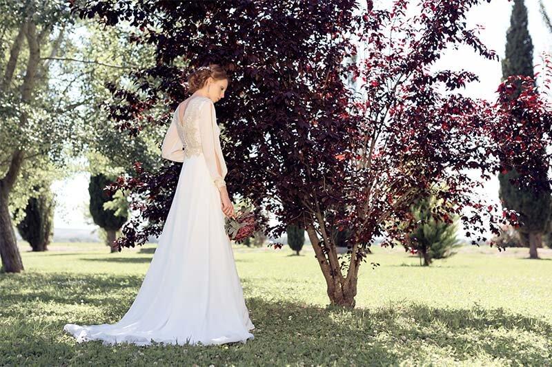 Vestido Coleccion Martha Peters