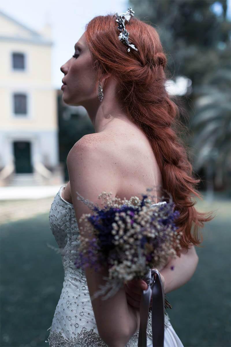 16 Peinado Eva Pellejero para Martha Peters Coleccion