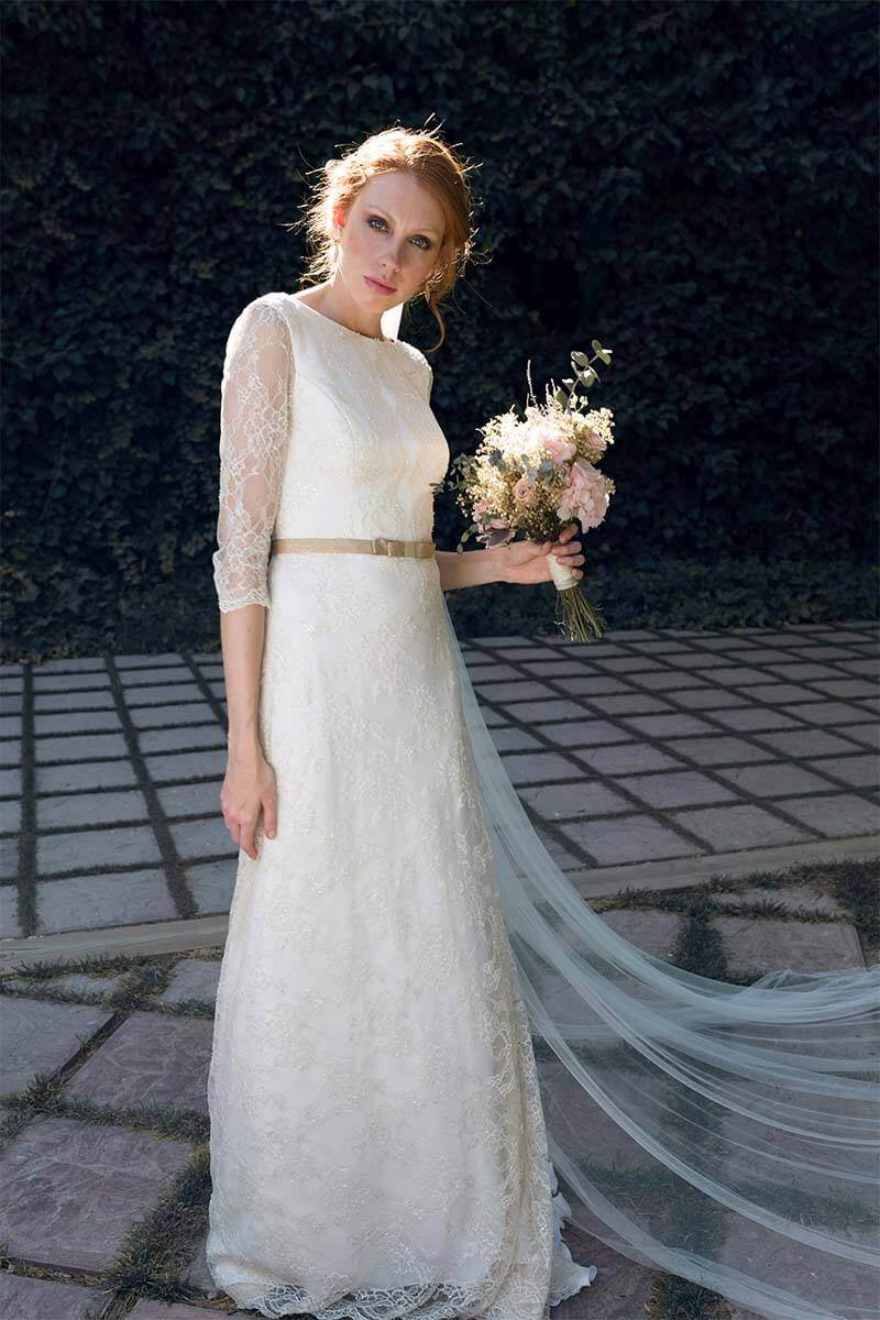 7 vestidos boda ibicenca