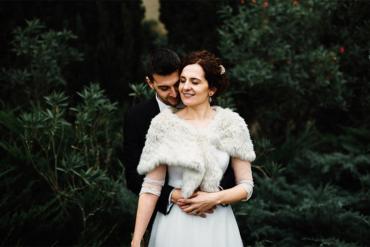 Una boda romántica y otoñal