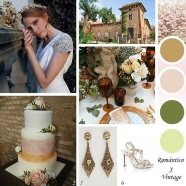 Ideas para una boda romántica y vintage
