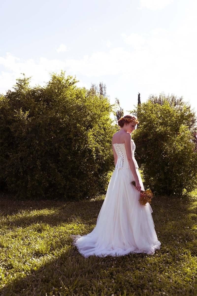 Vestido de novia de alta costura