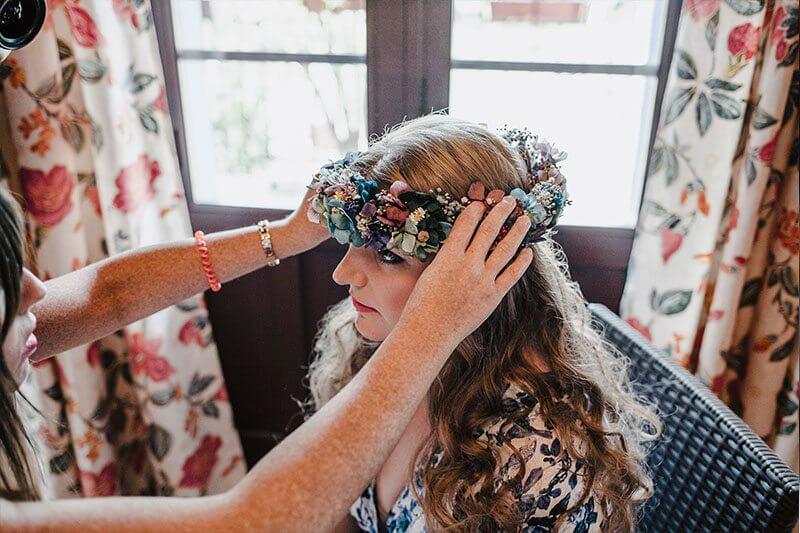 peinado de novia 2