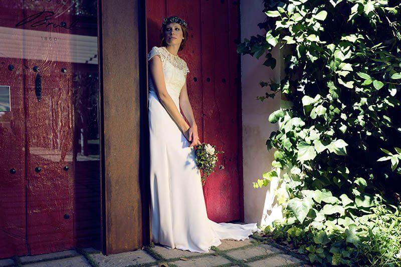 Vestido novia Martha Peters