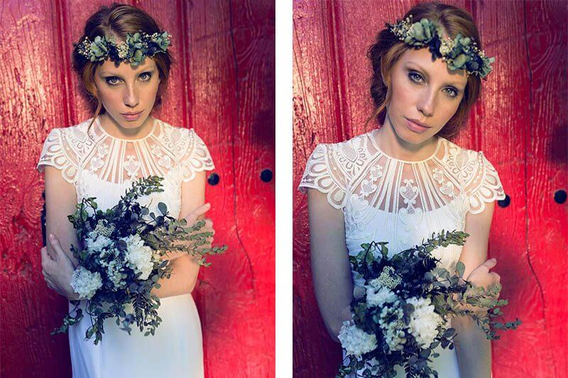 cotizar vestidos de novia modernos