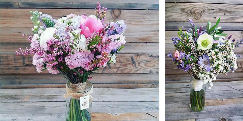 18 Flores en el columpio