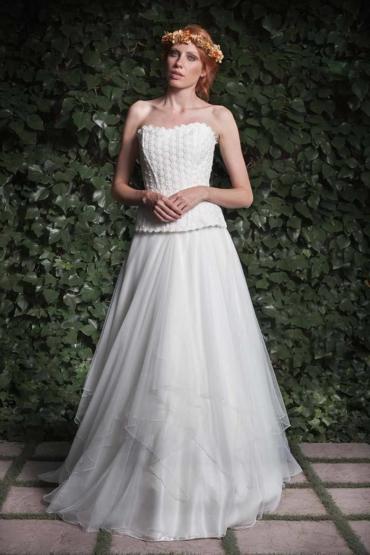 Joan, un vestido de novia elegante