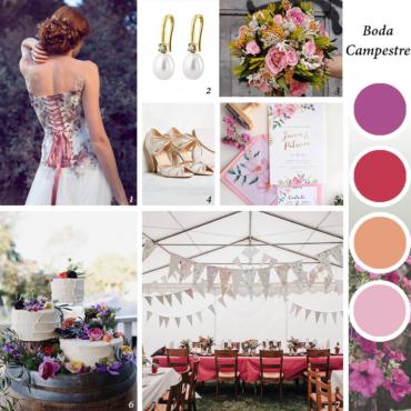 Ideas e inspiración para una romántica boda campestre
