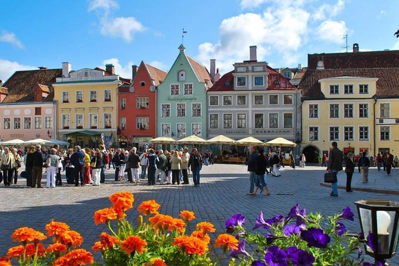 4 Los Balticos. Estonia (Tallin)