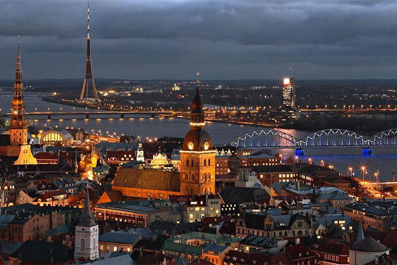 5 Los Balticos. Letonia