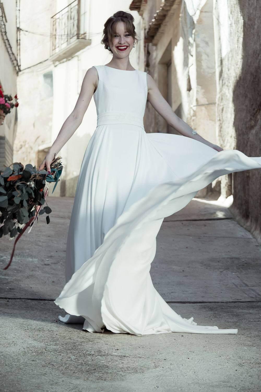 tiendas vestidos novia madrid