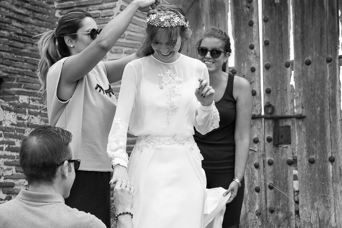 vestido novia disenador