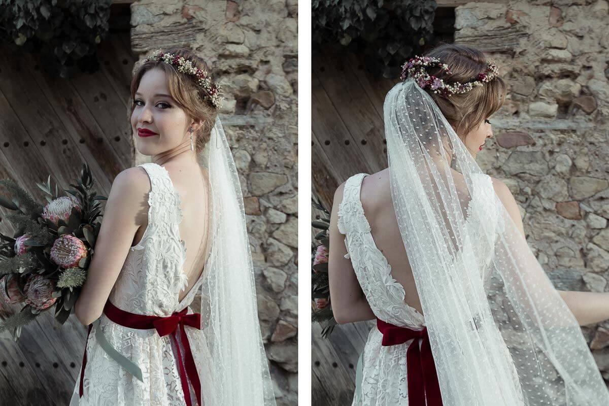 la novia vestidos