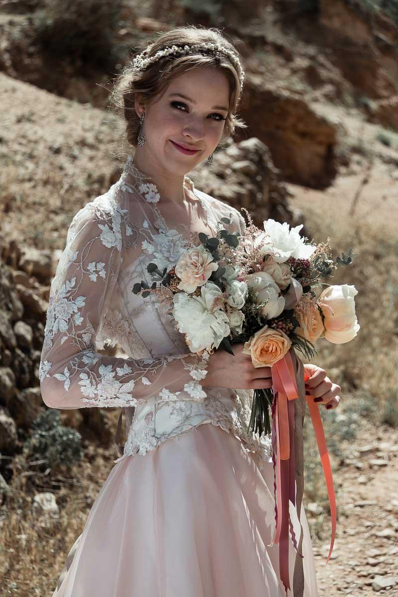 vestidos cortos de boda