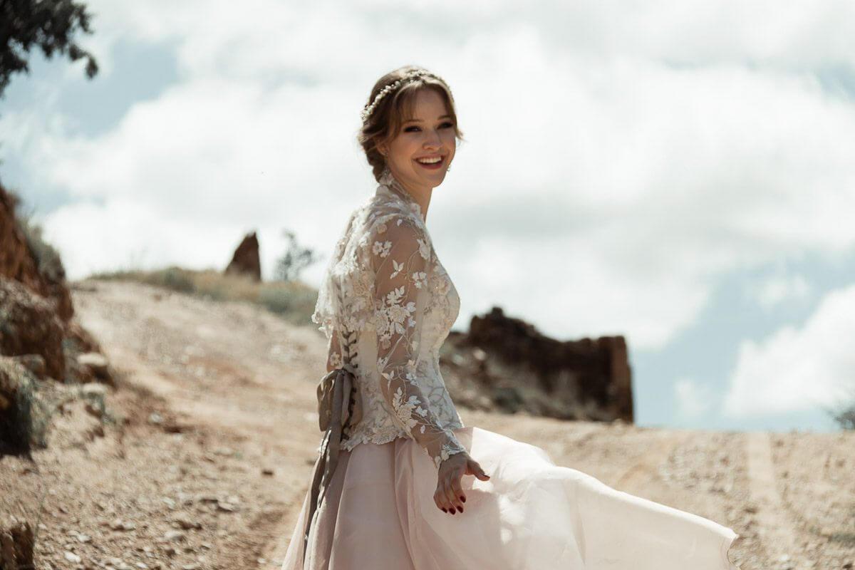 vestidos novia civil