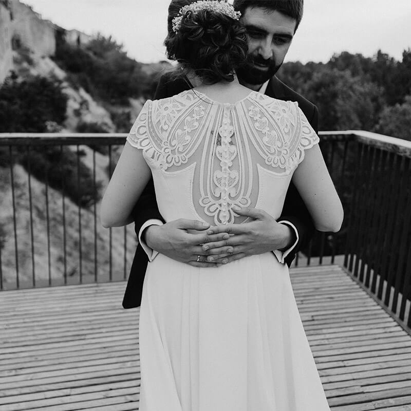 espaldas de novia
