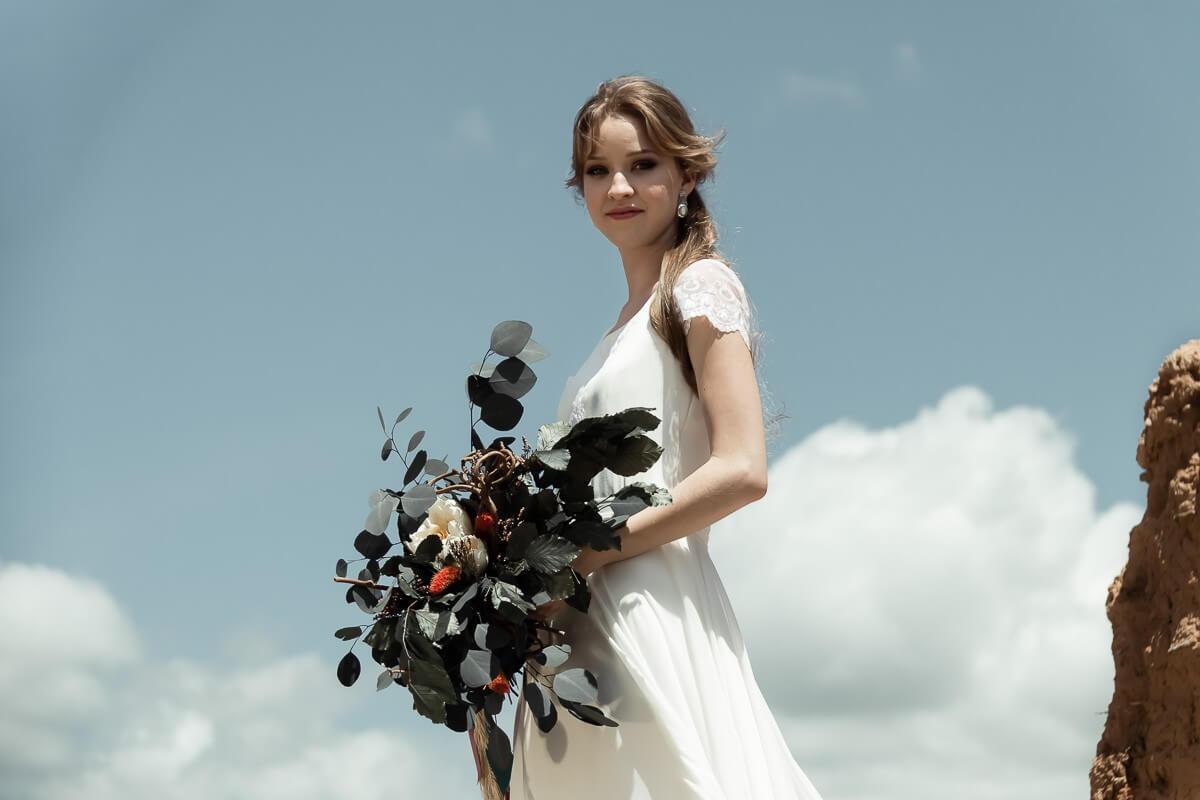 venta de vestidos de novia sencillos